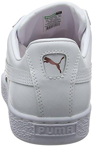Cuir Wn 01 Panier Or En rose Wei blanc Damen Coeur Baskets Pumas De 5q0nwOBY