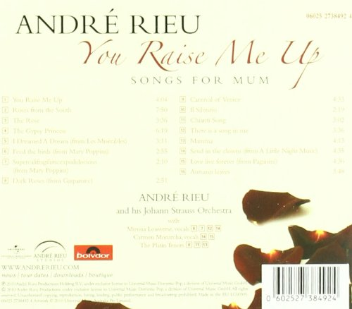 Your Raise Me Up: Songs for Mum by CD