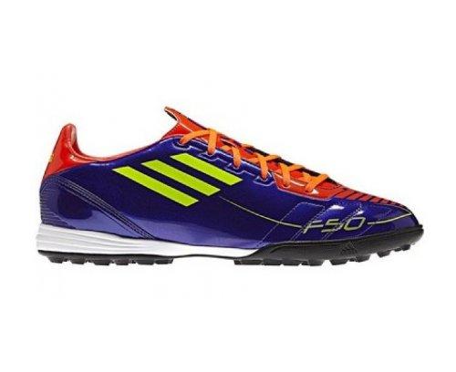 separation shoes 906fa 305d1 ADIDAS F10 TRX TF Scarpa da Calcio Uomo, Porpora, 46
