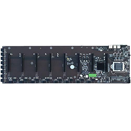 tellaLuna BTC-B75 Miner LGA 1155 Motherboard CPU for/Pentium/Celeron with 8 Card Slot for RX/GTX10/GTX20 Series