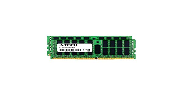 AT385357SRV-X1R10 DDR4 PC4-19200 2400Mhz ECC Registered RDIMM 2rx4 A-Tech 32GB Module for GIGABYTE X299 AORUS Ultra Gaming Server Memory Ram