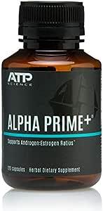 ATP Science Alpha Prime Hormone Balance Supplement & Detox For Men and Women - 120 Caps