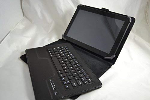 Theoutlettablet/® Funda con Teclado Bluetooth Extra/íble para Tablet Lenovo Tab 4 10 de 10.1 Pulgadas HD Color Negro
