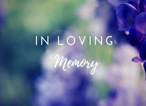 In Loving Memory: Funeral Guest Book, Memorial Service, Wake, Purple Flowers (Elite Guest Book) (Wake Flowers)