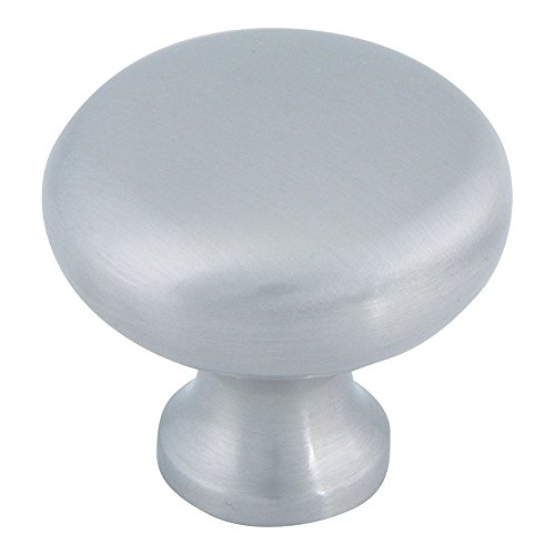 - Atlas Homewares A819-BN 1-1/4-Inch Euro-Tech Collection Round Knob, Brushed Nickel