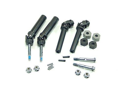 Traxxas Nitro Slash F&R Driveshafts Axles Ujoints Hexes Lugs Pins 6852X 3637