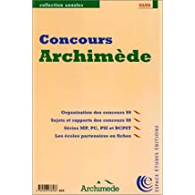 Concours archimede 98/99