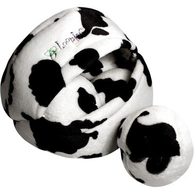 Loopies Brown Cow Bag O Balls 7″, My Pet Supplies