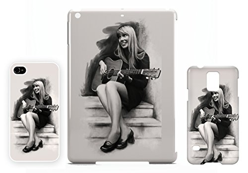 Joni Mitchell charcoal iPhone 4 / 4S cellulaire cas coque de téléphone cas, couverture de téléphone portable