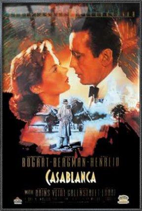 Casablanca - Framed Movie Poster / Print