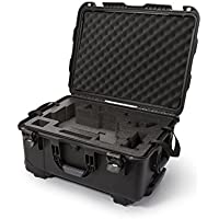 Nanuk Ronin M Waterproof Hard Case with Wheels and Custom Foam Insert for DJI Ronin M Gimbal Stabilizer Systems - 950-RON1 Black