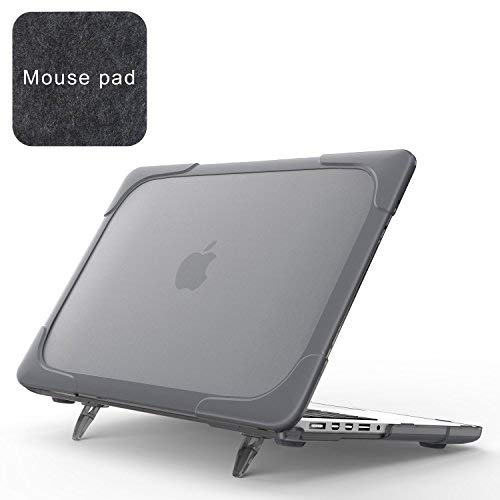 Spessn Compatible with [Heavy Duty Series] Hard Shell Protective Cover Case for MacBook Pro 15.4