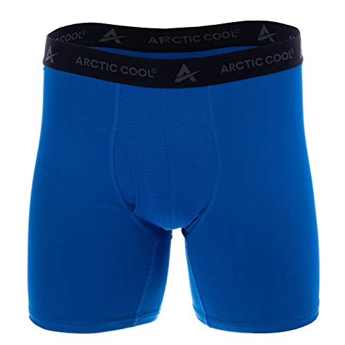 - Arctic Cool Men's Instant Cooling Boxer Brief Performance Tech Breathable Moisture Wicking Tagless Comfortable Athletic Gym Quick Drying Baselayer Underwear, Polar Blue, L