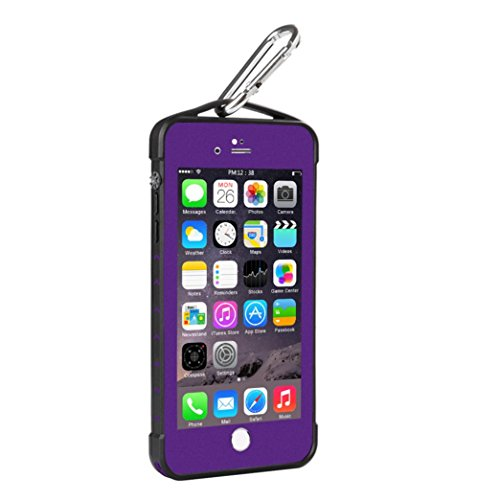 Price comparison product image GBSELL Hook Up Waterproof Shockproof Dirt Proof Cover Case for iPhone 7 Plus (Purple)