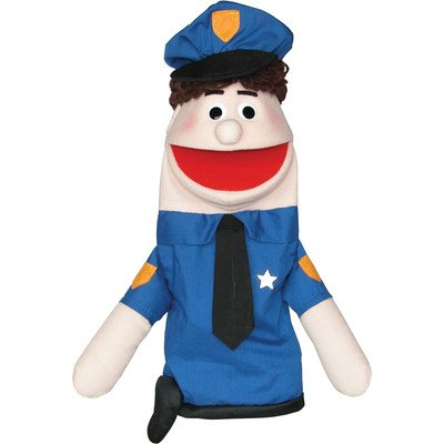 Amazoncom Police Officer Puppet Skin Tone Hispanic Toys Games