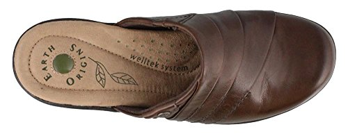 Jord Opprinnelse Kvinners Ingefær Bark Leatherclogs-og-muldyr-sko 9,5 B (m) Oss