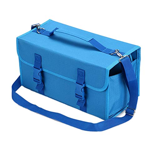 TOOGOO Marker 120 Holders Organizer Case Storage So On Fits from 15Mm to 22Mm Diameter Blue by TOOGOO (Image #8)