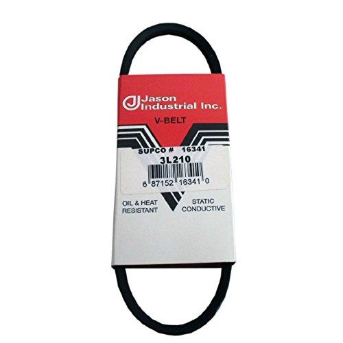 1 Band D/&D PowerDrive 3L210 NAPA AUTOMOTIVE Replacement Belt Rubber