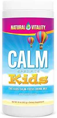Natural Vitality Calm Specifics, Kids Magnesium Dietary Supplement Powder, Mixed Berry Flavor - 16 Ounce