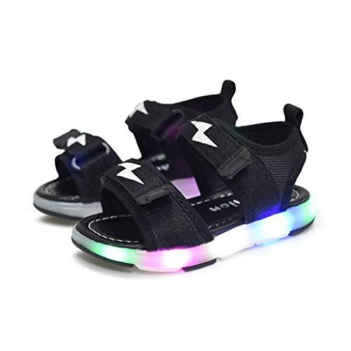 Tronet Toddler Sandals Boys/Girls Children BabyLightning Led Light Luminous Run Sport Sandals Sneakers Shoes ()