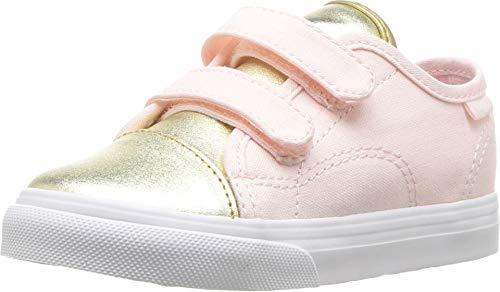 Vans Style 23 V Metallic Toe Heavenly Pink Toddler Shoes (9.5 M US Toddler)
