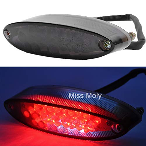 28 LED Motorcycle Signal Tail Light 12V Brake Stop Running Light for Motorbikes Dirt Bike Quads ATVs