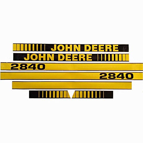 Hood Decal Set Replacement for John Deere Tractor 2840 Part Number JD2840