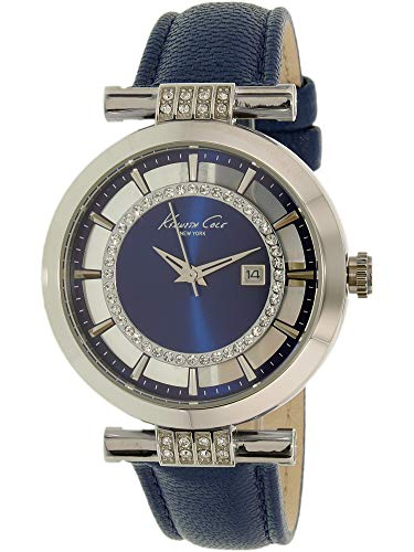 Kenneth Cole New York Women's 10021102 Transparency Analog Display Japanese Quartz Blue Watch
