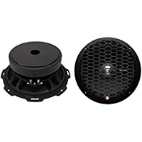 2) Rockford Fosgate PPS4-8 8-Inch 500 Watt 4-Ohm MidRange Car Stereo Speakers