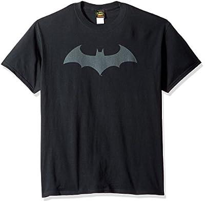 DC Comics Men's Batman Hush Logo T-Shirt
