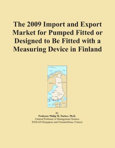 La Importación de 2009y mercado de exportación para bombear montarse o Diseñado para ser equipado con un aparato de...