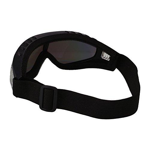 Forfar Motociclismo Gafas Los anteojos Gafas de esquí Al aire libre Ojo de protección Viento airsoft Vistoso