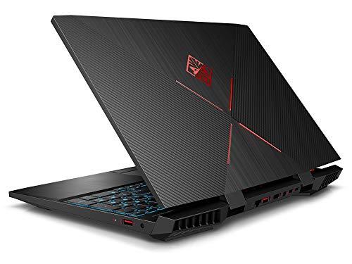 "HP OMEN 15 Laptop, 15.6"" FHD Display, Intel Core i7-9750H Upto 4.5GHz, 16GB RAM, 256GB NVMe SSD, NVIDIA GeForce GTX 1660 Ti, HDMI, Mini DisplayPort, Card Reader, Wi-Fi, Bluetooth, Windows 10 Home"