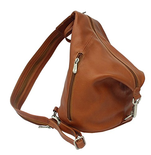 Saddle in Avenue Zip Piel Fashion Leather Hobo Three Sling q0yOA8