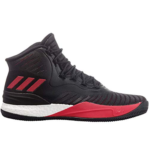 adidas Performance Mens D Rose 8 Basketball Shoes - Black - 14US