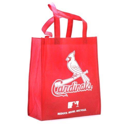 Louis Cardinals Bean Bag - St. Louis Cardinals Printed Non-Woven Polypropylene Reusable Grocery Tote Bag