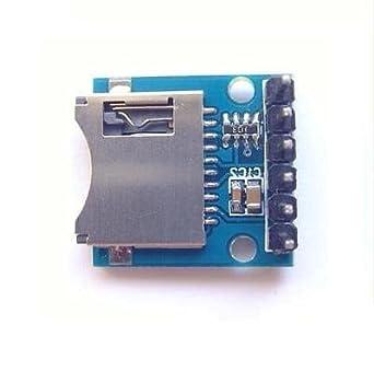 Amazon.com: Mini tarjeta SD Módulo Módulo de memoria Tarjeta ...