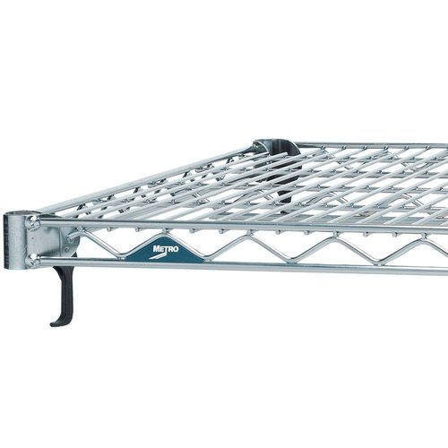 "INTERMETRO INDUSTRIES A2460NC Super Adjustable Chrome Wire Construction Build-A-Cart Shelve, 24"" W x 60"" H"