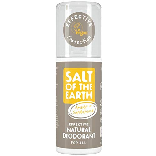 - Salt of the Earth Amber and Sandalwood natural Deodorant Spray 100ml
