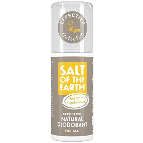 Salt of the Earth Amber and Sandalwood natural Deodorant Spray 100ml