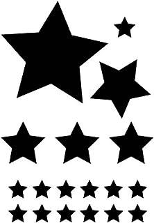 efco Sterne Schablone in 2 Designs, Kunststoff, Transparent, A5 ...