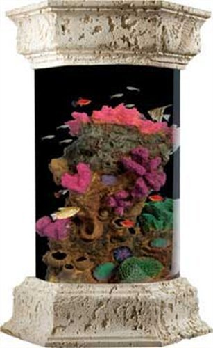 KollerCraft Ocean Treasures Coral Splash Aquarium Kit, 6-Gallon