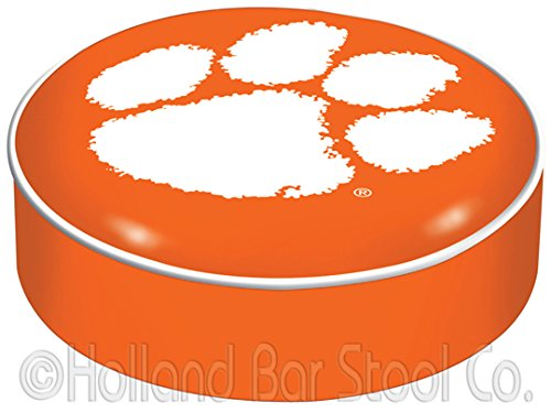 NCAA Clemson Tigers Bar Stool Seat Cover