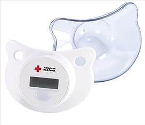 First Years Termómetro chupete digital de Cruz Roja