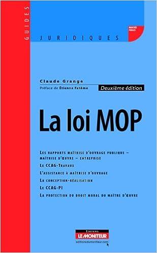 Livre gratuits en ligne La loi MOP pdf ebook
