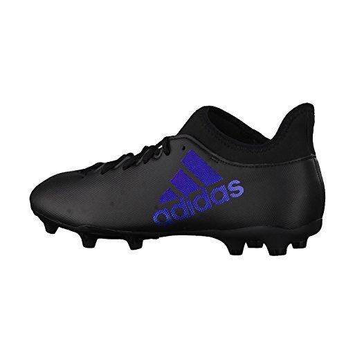 adidas X 17.3 Fg, Zapatillas de Deporte para Hombre Varios colores (Negbas / Negbas / Neguti)