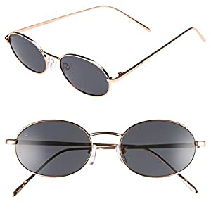 """PRIVÉ REVAUX Madelaine Collection """"Candy"""" Handcrafted Designer Sunglasses (Black)"""
