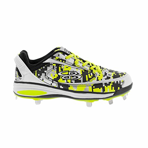 aa787625868 Boombah Men s Viceroy Metal Black Twitch Camo - Size 11