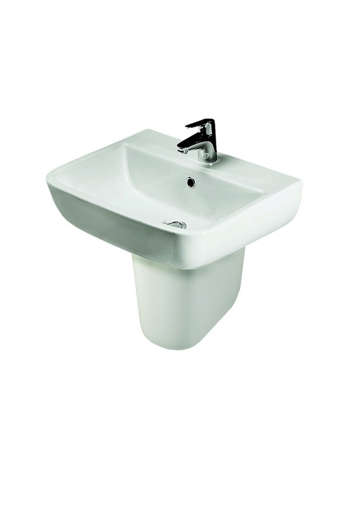 Rak Ceramics S60052BAS1 52 cm Series 600 Basin 1th