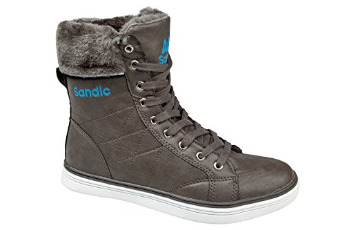 gibra - Zapatillas de Material Sintético para mujer gris